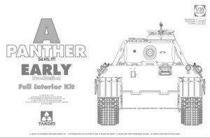 Takom SdKfz 171 Panther A Early w/ interior PKTAK02097