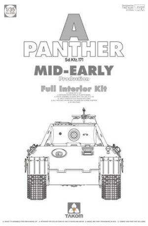 Takom SdKfz 171 Panther A Mid-Early w/ interior PKTAK02098