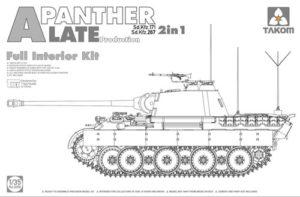 Takom SdKfz 171/267 Panther A Late w/ interior 2 in 1 PKTAK02099
