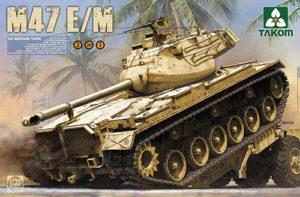Takom US Medium Tank M47E/M 2 in 1