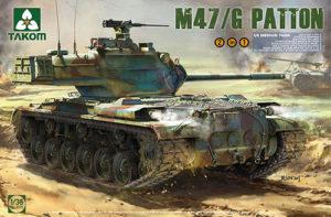 Takom US Medium Tank M47/G 2 in 1