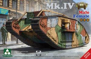 Takom WWI Heavy Battle Tank Mk IV 2 in 1 (Special Edition)