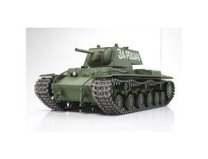 TAMIYA 1/16 R/C RUSSIAN KV-1 FULL OPTION MODEL TANK KIT