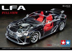 Tamiya 1/24 Lexus LFA Full View 24325