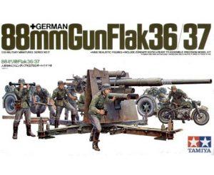 Tamiya 1/35 88mm Gun Flak 36/37 35017