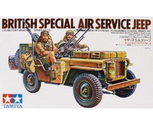 Tamiya 1/35 British SAS Jeep 35033