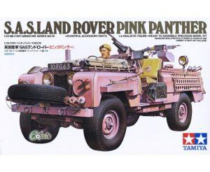 Tamiya 1/35 British SAS Pink Panther Land Rover 35076