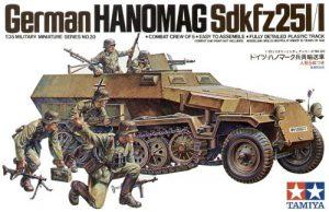 Tamiya 1/35 Hanomag Sd.Kfz. 251/1 35020