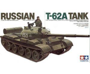 Tamiya 1/35 Russian T-62A Tank 35108