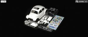 Tamiya Body Parts Set - Sand Scorcher