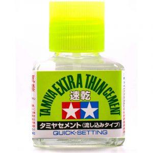 Tamiya Extra Thin Cement (Quick-Setting)