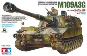 Tamiya German Bundeswehr M109A3G - Self-Propelled Howitzer 37022