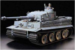 Tamiya German Tiger 1 with Option Kit