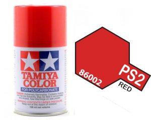 Tamiya PS2 Red