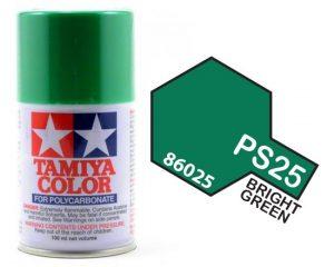 Tamiya PS25 Bright Green