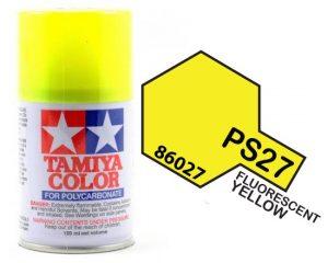 Tamiya PS27 Fluorescent Yellow
