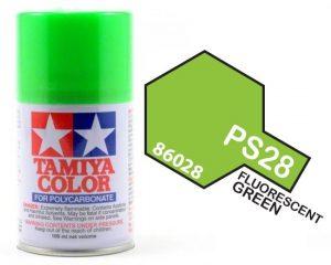 Tamiya PS28 Fluorescent Green