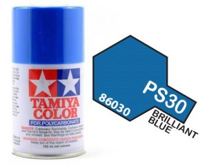 Tamiya PS30 Brilliant Blue 1