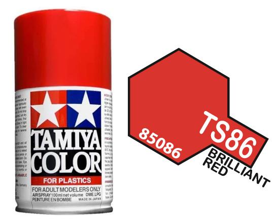 Tamiya TS-86 Pure Red