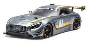 Tamiya R/C Mercedes AMG SLS GT3 TT-02 Model Kit