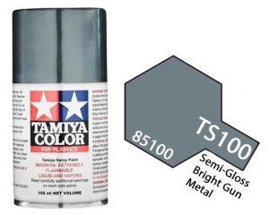 Tamiya TS-100 SG Bright Gun Metal