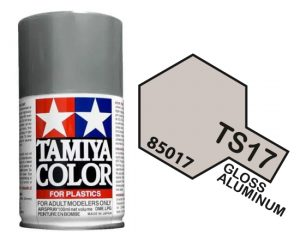 Tamiya TS-17 Gloss Aluminium