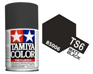 Tamiya TS-6 Matt Black