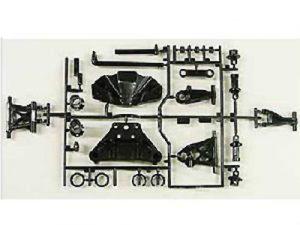 Tamiya TT-02 B Parts (Suspension Arms) FR/RR (2)