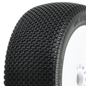 Top Ten Bestseller in Wheels & Tyres PROLINE 'SLIDE LOCK' M3 PRE-MOUNT VEL. V2 WHITE WHEELS (2)