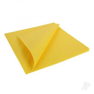 Trainer Yellow Lightweight Tissue Covering Paper, 50x76cm, (5 Sheets)