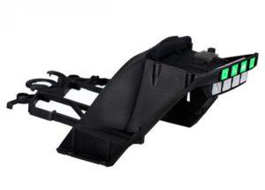 Traxxas Aton Main frame upper (black)
