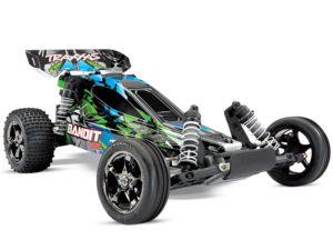 Traxxas Bandit VXL Brushless 2WD TSM - (TQi/No Batt or Chg) TRX24076-4-GRN