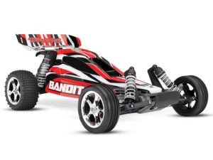 Traxxas Bandit XL-5 iD RTR (Red) TRX24054-4-RED No Battery and Charger