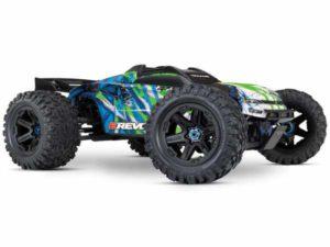 E-Revo II VXL 4WD TSM (TQi/No Batt or Chg) - Green