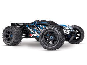 Traxxas E-Revo II VXL 4WD TSM (TQi/No Batt or Chg) - Blue