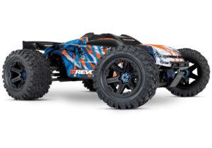 E-Revo II VXL 4WD TSM (TQi/No Batt or Chg) - Orange