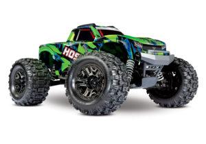 Traxxas Hoss 1/10 4×4 VXL 3S Brushlesss Monster Truck RTR – Green – TRX90076-4-GRNX