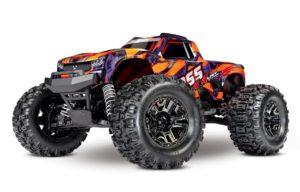 Traxxas Hoss 1/10 4×4 VXL 3S Brushlesss Monster Truck RTR – Orange – TRX90076-4-ORNGX