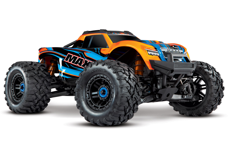 Traxxas Maxx 1/10 4WD VXL (TQi, TSM, No Batt, No Chgr) Orange