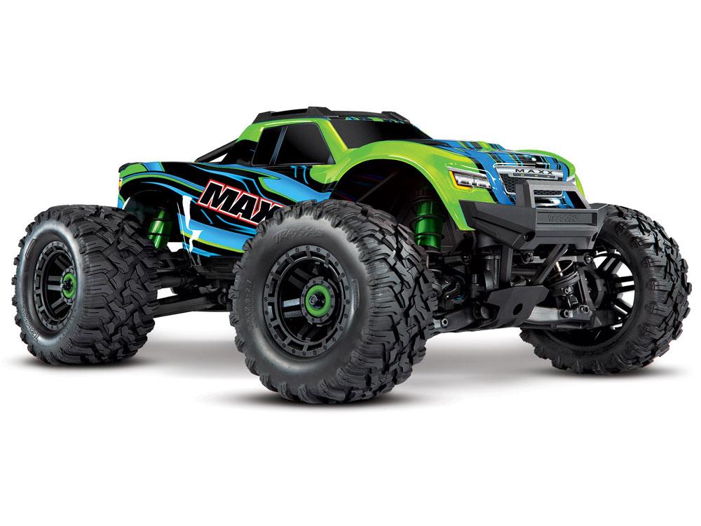 Traxxas Maxx 1/10 4WD VXL (TQi, TSM, No Batt, No Chgr) Green