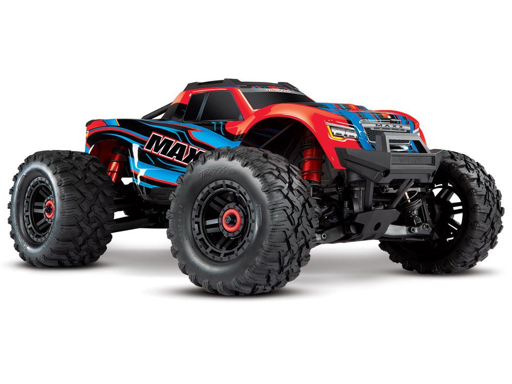 Traxxas Maxx 1/10 4WD VXL (TQi, TSM, No Batt, No Chgr) Red X