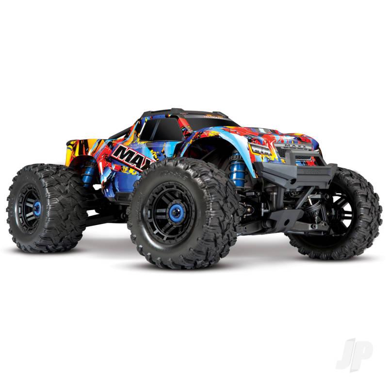 Traxxas Maxx 1/10 4WD VXL (TQi, TSM, No Batt, No Chgr) Rock n Roll