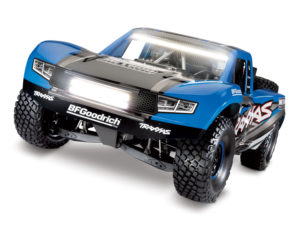 Traxxas UDR Unlimited Desert Racer 4WD with Light Kit Fitted Blue Edition