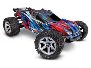 Traxxas Rustler 4x4 VXL - Blue