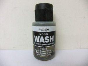 Vallejo Model Wash 35ml - Dark Khaki Green Wash