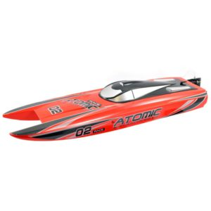 Atomic Cat 70 Brushless ARTR Racing Boat (Red) (No Battery or Charger)