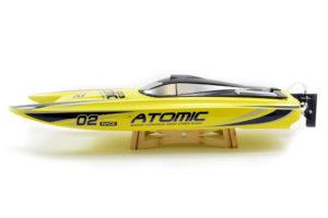 Volantex Atomic Cat 70 Brushless ARTR Racing Boat (Yellow)