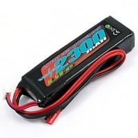 Voltz 2300mAh 2S 6.6v LiFe RX Stick Battery Pack
