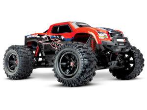X-Maxx 1/7 4WD 8S (VXL-8S/TQi/No Batt/No Chg) - Red X