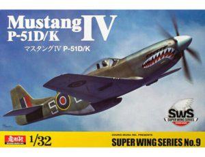 ZOUKEI MURA 1/32 NORTH AMERICAN P-51D/K MUSTANG IV RAF